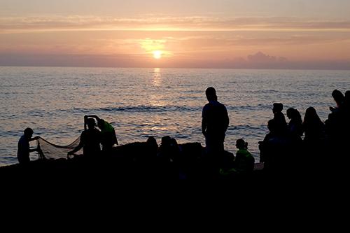 Foto sunset Ericeira